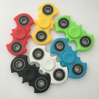 7 Colors Hand Spinner Fidget Stress Cube Batman Fidget Spinner Plastic EDC Tri-Spinner Fidget Toy Adults Focus Anti Stress Gifts