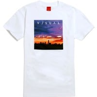 Visual by Van Styles Purple Haze T-Shirt - Mens Tee - White