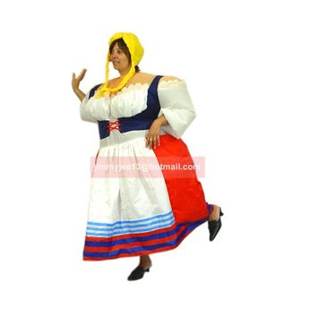 inflatable Germany Lady costume folk costume funny costume Beer Festival costume fancy dress air blown outfit promotion