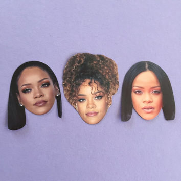 Rihanna Sticker Set