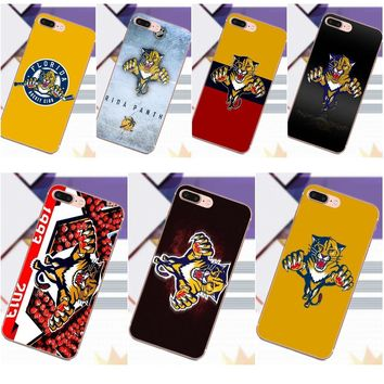 Soft TPU Phone Cases Cover For Sony Xperia Z Z1 Z2 Z3 Z4 Z5 compact Mini Premium M2 M4 M5 T3 E3 E5 XA Nhl Florida Panthers