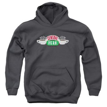 Friends - Central Perk Logo Youth Pull Over Hoodie