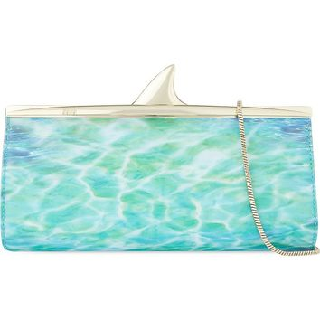KATE SPADE - Melly shark clutch | Selfridges.com