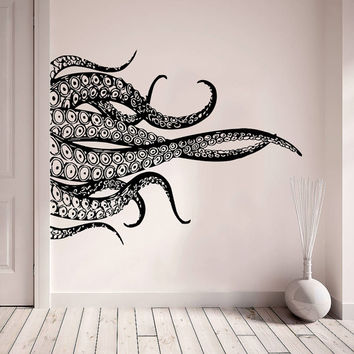 best tentacle wall art products on wanelo. Black Bedroom Furniture Sets. Home Design Ideas