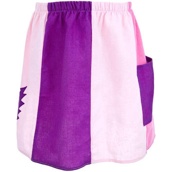 Grateful Dead - Lightning Bolt Pink Infant Panel Skirt