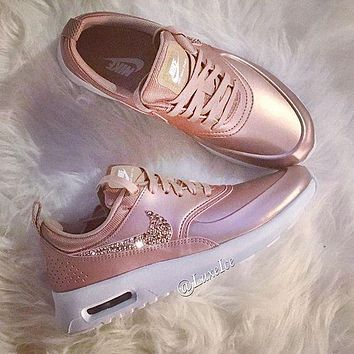 Nike Air Max Trending Glittering Logo Sport Running Sneakers Sport Shoes