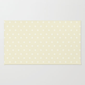 Polka Spots Area & Throw Rug by Texnotropio