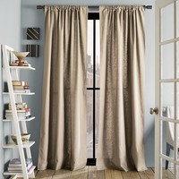 Linen Cotton Curtain – Flax