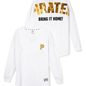 Pittsburgh Pirates Bling Varsity Crew - PINK - Victoria's Secret