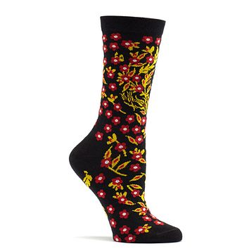 Turkish Flower Sock