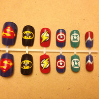 Superhero Nail Art Set