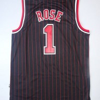 Derrick Rose 1 Chicago Bulls NBA Basketball Jersey Derrick Rose Chicago Bulls