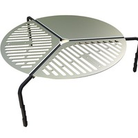 """Spare Tire Mount Stainless Steel BBQ Campfire Cooking Grate for Tires up to 37"""" - by Front Runner"""