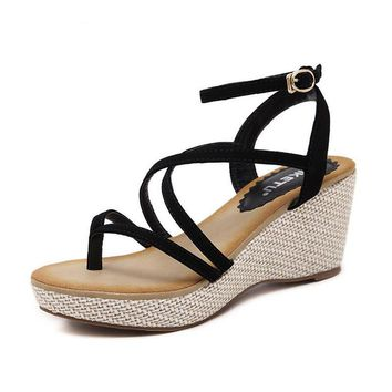 Kitty Fashion Summer Wedges