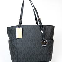 Michael Kors Monogram Jet Set Tote