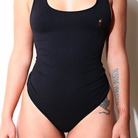 Empowerment Black Body By Babes Thong Bodysuit w/ Tummy Control