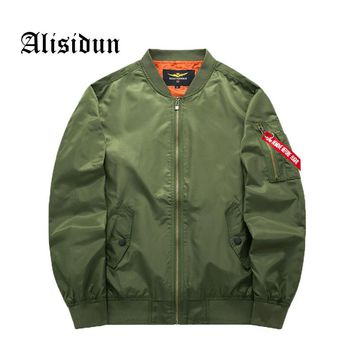 Jacket Military Men Army Air Force One Jackets Pilot