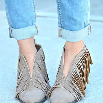 The Knox Bootie - Taupe