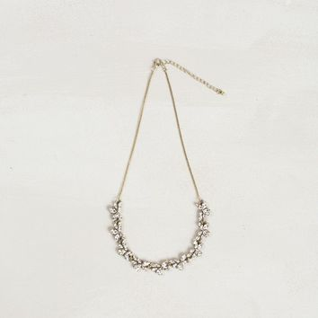 Susie Dainty Crystal Necklace