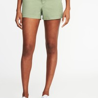 """Pixie Chino Shorts for Women (3 1/2"""")   Old Navy"""