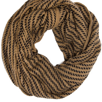 Easton Infinity Scarf - Taupe