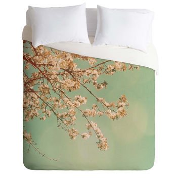 Happee Monkee Plum Blossoms Duvet Cover