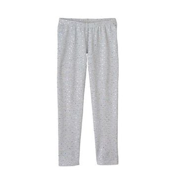 MDIGPL3 Jumping Beans Foil Dot Leggings - Girls