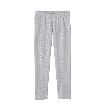 ESB7GX Jumping Beans Foil Dot Leggings - Girls