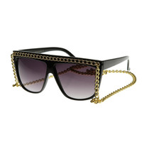 Chain Drape Sunnies