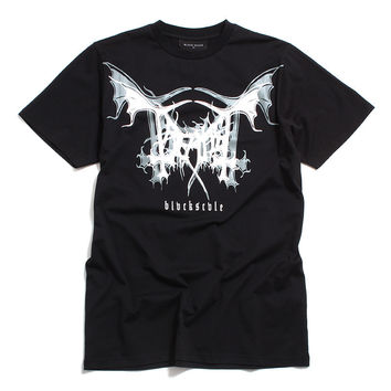 Black Scale x Treated Crew Wing T-Shirt Black