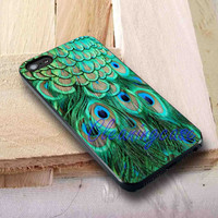 Beautiful Peacock Feather Cover | iPhone 4 4S iPhone 5 5S 5C and Samsung Galaxy S3 S4 S5 Case