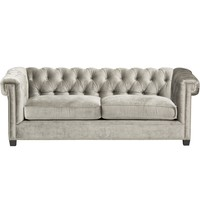 George Sofa, Brussels Charcoal - Sofas - Furniture