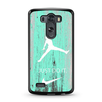 Nike Jordan Mint Wood LG G3 case