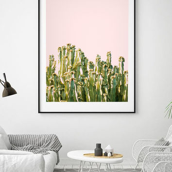 Cactus Blush #society6 #decor #buyart by 83 Oranges™