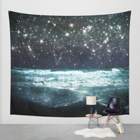 The Greek Upon the Stars Wall Tapestry by Jenndalyn | Society6