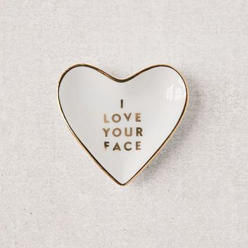 Fringe Studio Love Your Face Catch-All Dish | Urban Outfitters