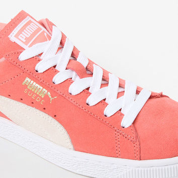 Puma Women's Peach Suede Classic Sneakers at PacSun.com