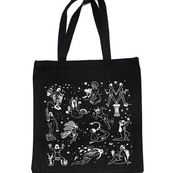 Ladies Of The Zodiac Tote Bag