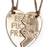 Best F****ing Friends Necklace