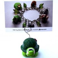 Turtle Photo Holder by carriesclaycreations on Zibbet