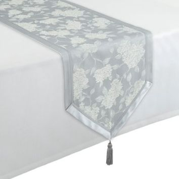 Waterford® Linens Hydrangea 16-Inch x 90-Inch Table Runner