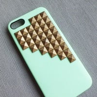 Iphone 5 casestudded iphone 5 caseAntique by STUDDEDCASESBAR