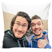 Markiplier and JackSepticEye Pillow