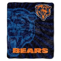 Chicago Bears Sherpa Blanket (Brs Team)
