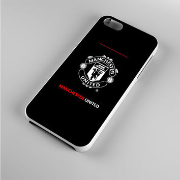 manchester united black Iphone 5s Case