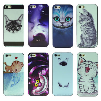 Shop Crazy Cats Hard Cover Housing for Apple iPhone 5 5s SE