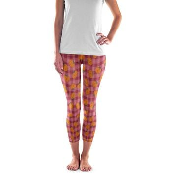 Thanksgiving Pumpkin Leggings