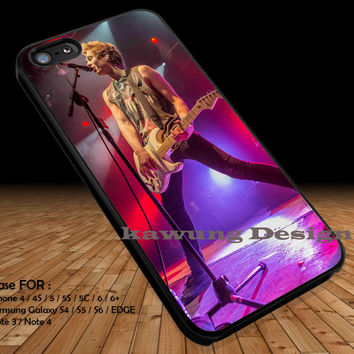 On Stage Luke Hemmings iPhone 6s 6 6s+ 5c 5s Cases Samsung Galaxy s5 s6 Edge+ NOTE 5 4 3 #music #5sos DOP2173