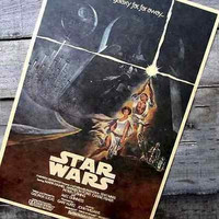 Star Wars Darth Vader Vintage Style Retro Paper Poster 16.5*11.8 inches