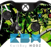 Toxic Camouflage Xbox One Controller